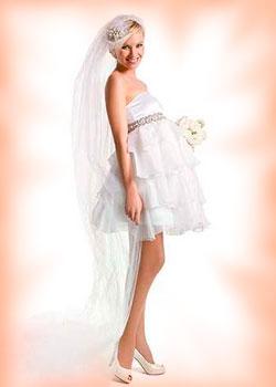 Где купить дешевое свадебное платье для беременных